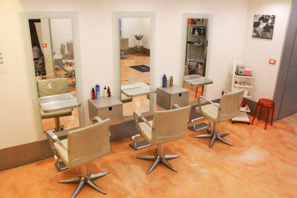 Salone parrucchiera martina grassi Milano