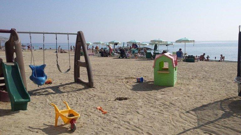 Spiaggia attreezzata