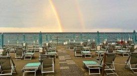 la spiaggia bagni aurelia
