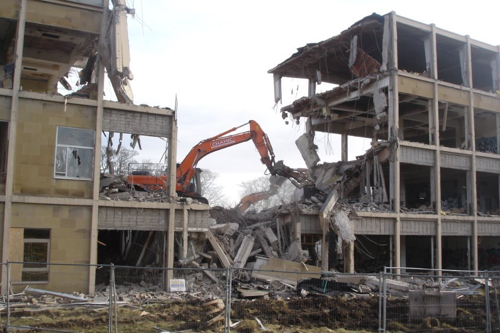 Building rip-out