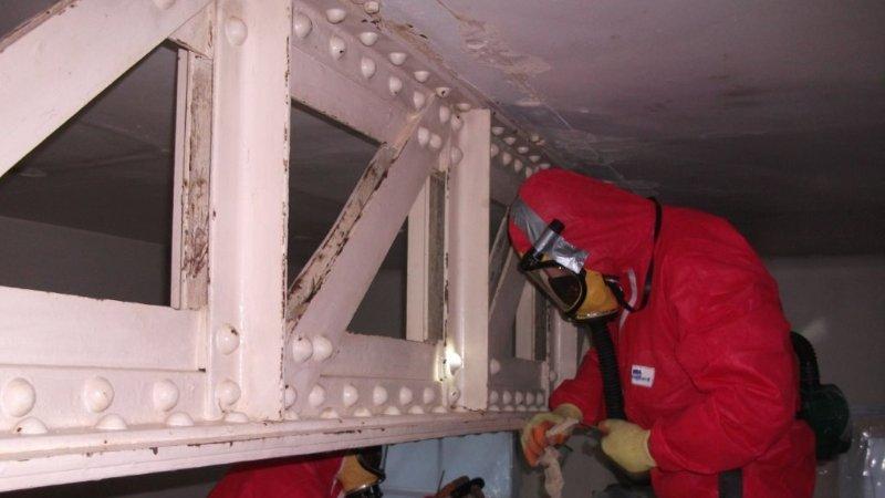 Asbestos removal and demolition contractors