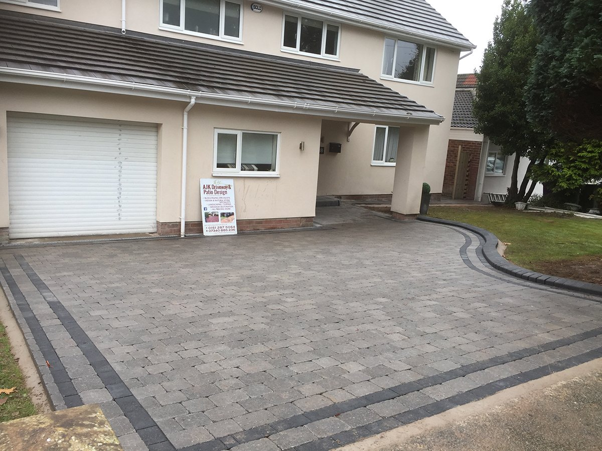New paving