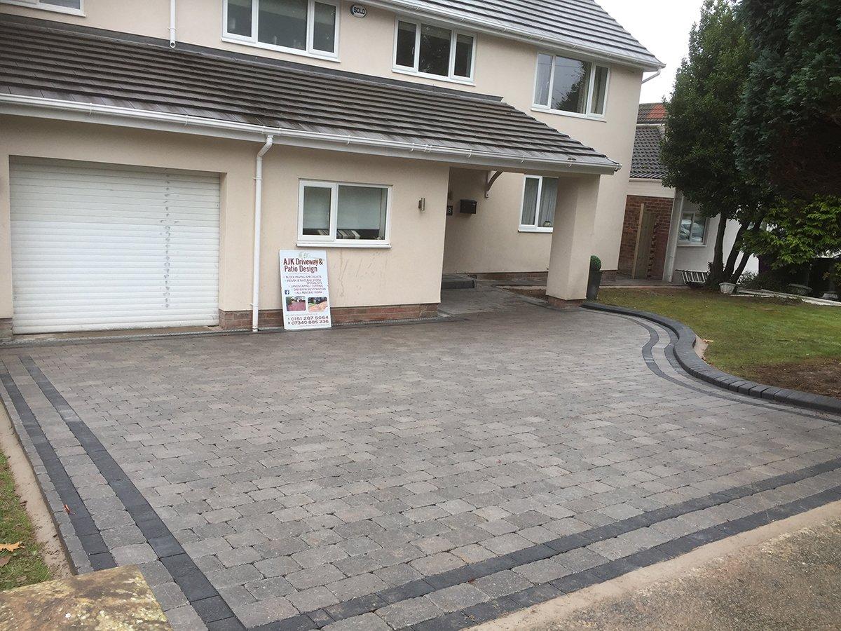 New paving
