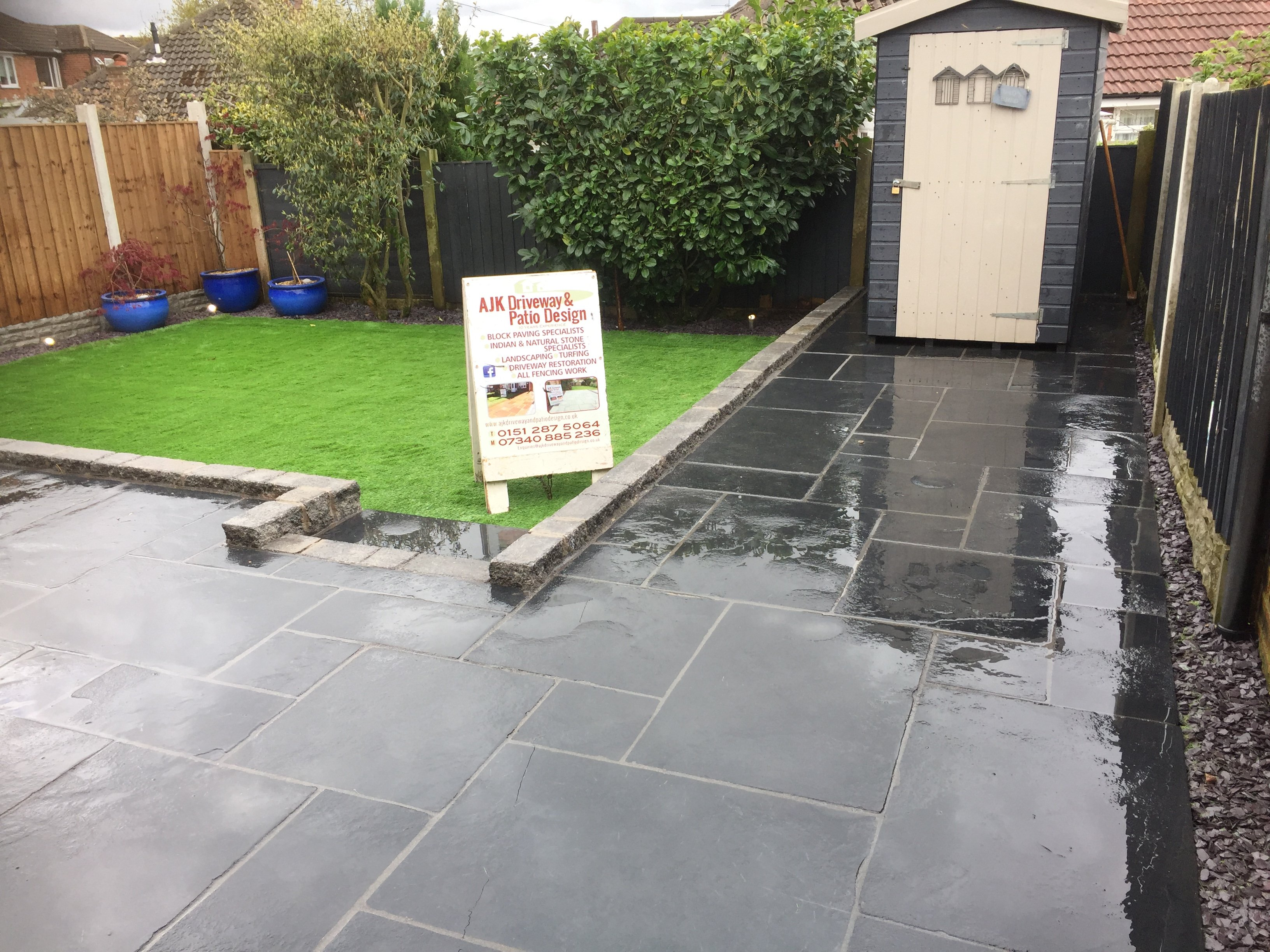Domestic paving