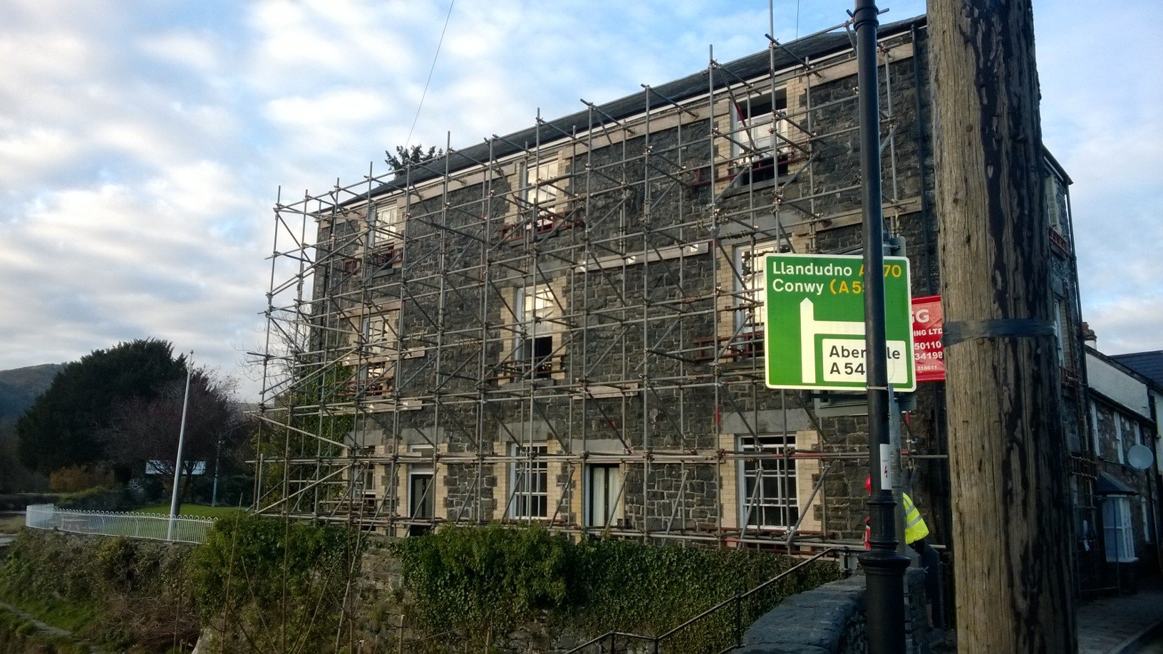 commercial building renovation