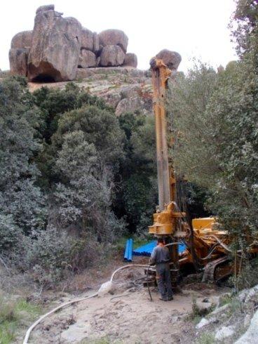 artesian wells in Sardinia