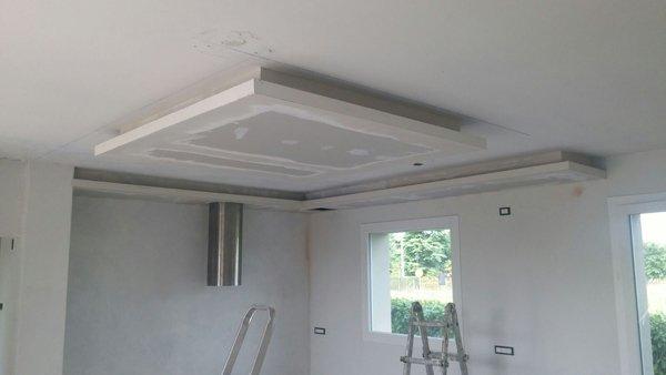 imbiancatura di un soffitto