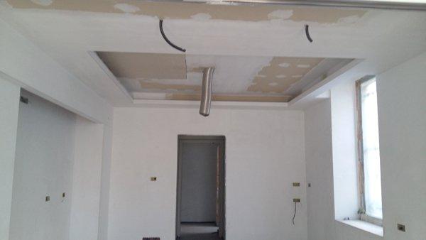 vista di un soffitto