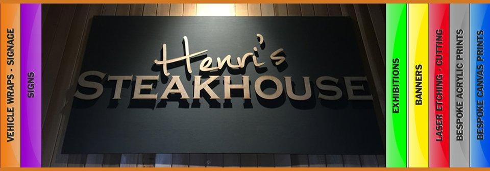 Henri's Steakhouse logo