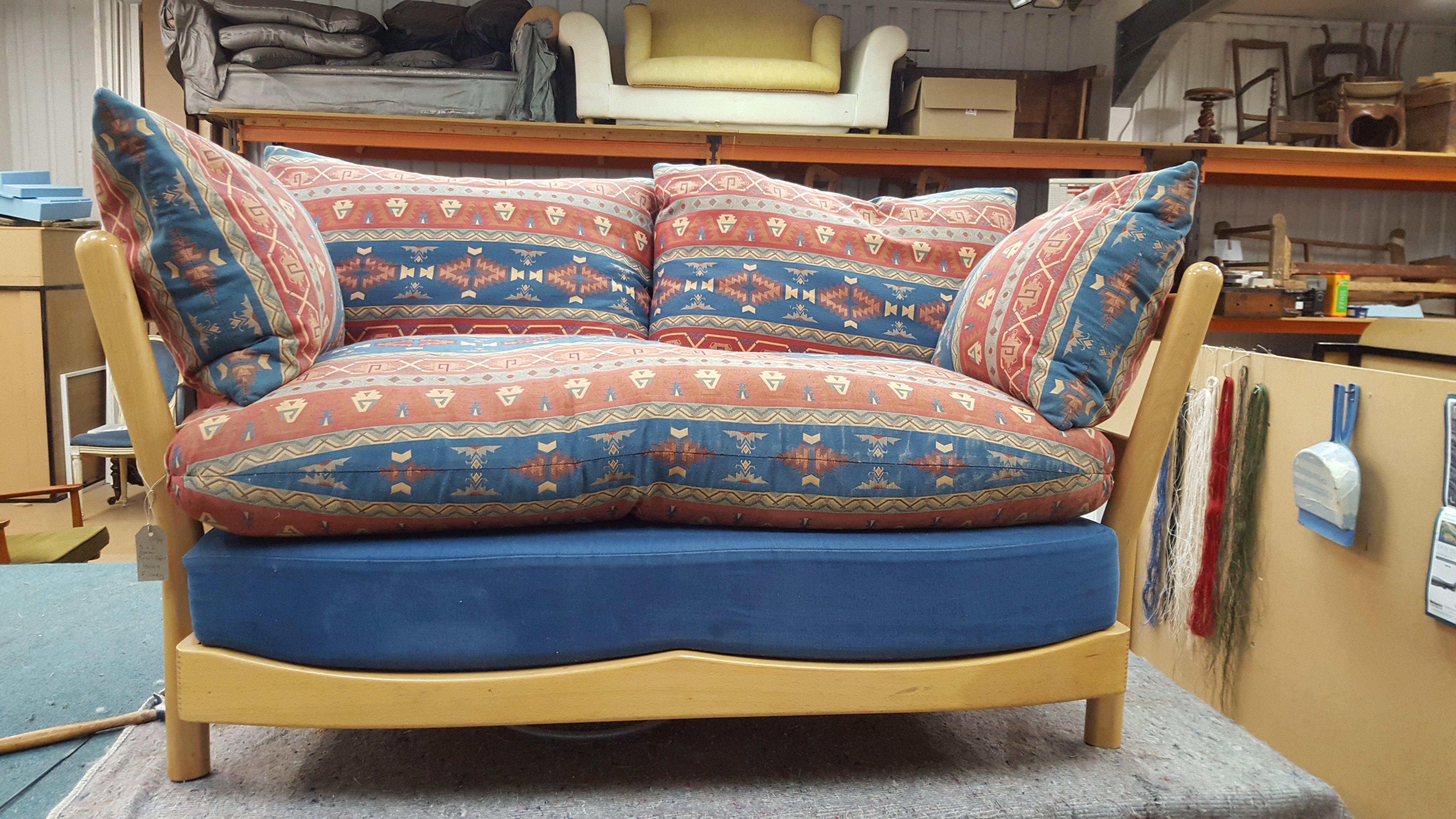 Un-restored couch