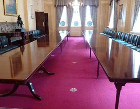 Two Restored Long Tables
