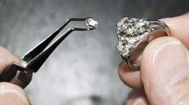 rimpicciolimento anello oro