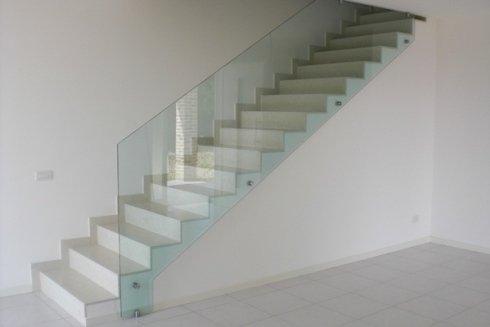 Parapetto scalinata