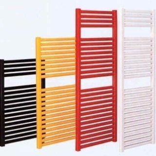 dei caloriferi verticali di diversi colori