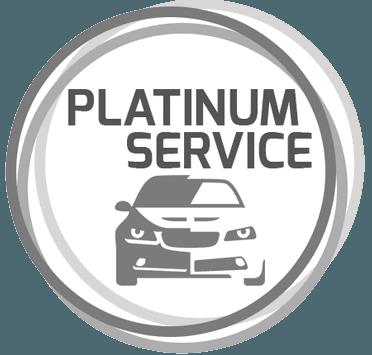 platinum service - logo