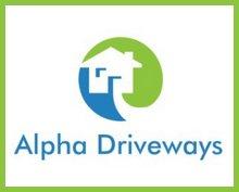 Alpha Driveways Company logo