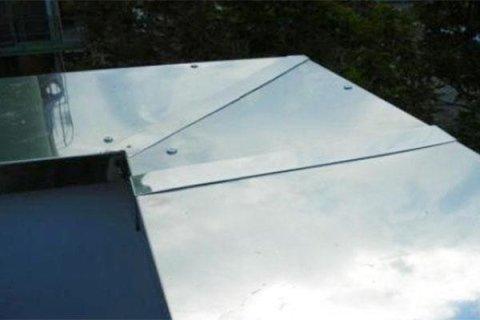 pluviali in alluminio