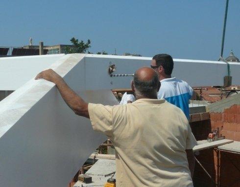 lavorazione tetti