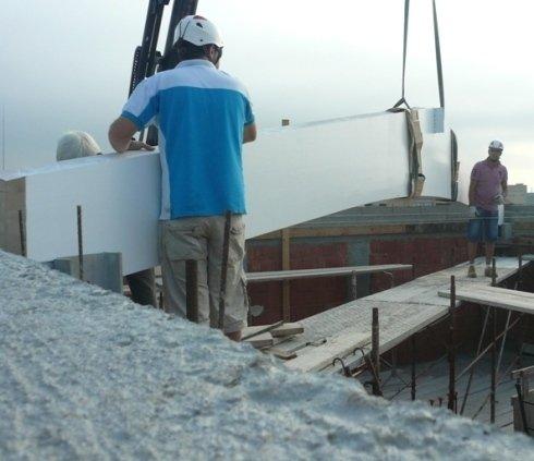 posa in opera tetti