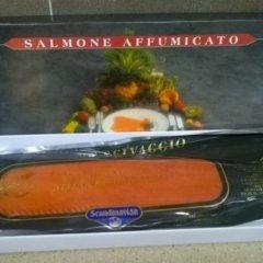 BANDE DI SALMONE  AFFUMICATO
