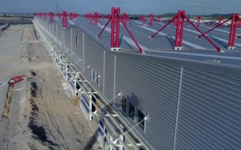 strutture in ferro per capannoni