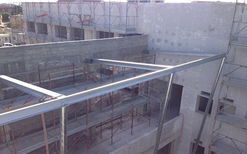 impalcature per tetti