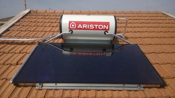 Pannello Solare Piano con Boiler a Bordo