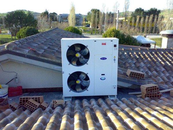 Pompe di calore aria - acqua