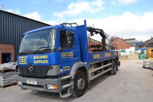 truck image of best building supplies