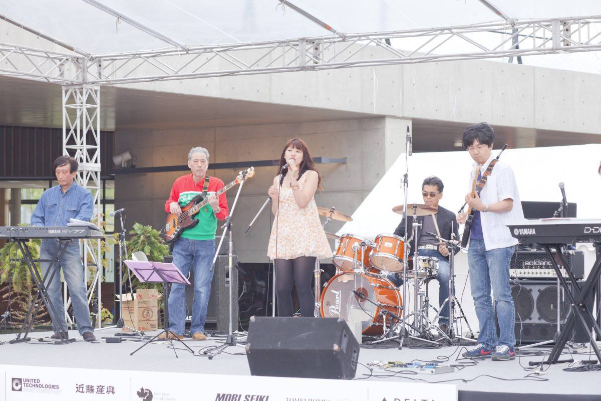 Live Music band at Chubu Walkathon