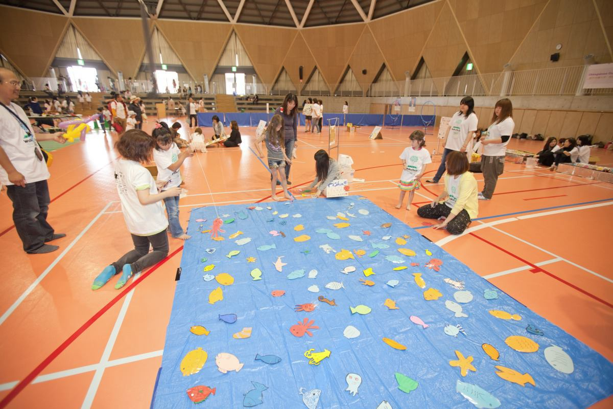 Children's activities at Chubu Walkathon