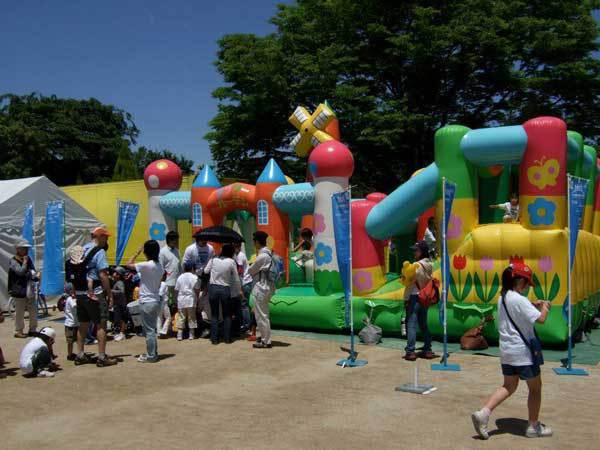 Children having fun at Chubu Walkathon 2009