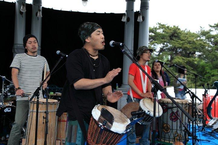 African Drums at Chubu Walkathon