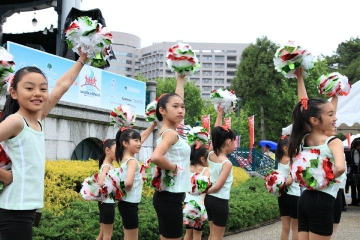 Children dancing at 2010 Chubu Walkathon