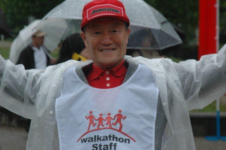 Volunteer at 2010 Chubu Walkathon