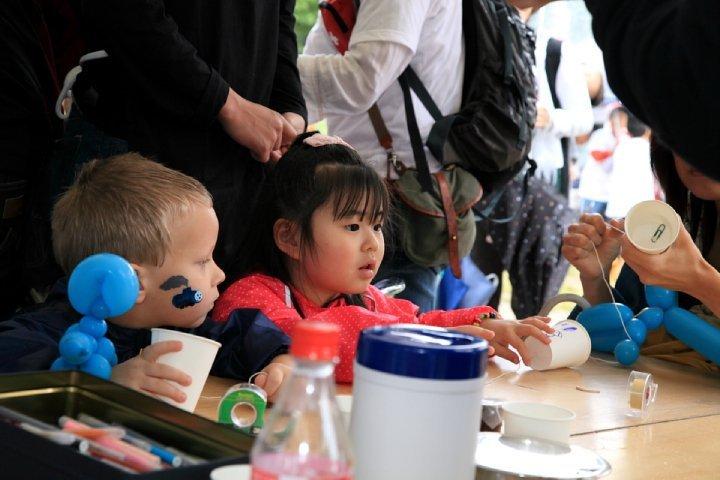 Chldren's activities at the 19th Chubu Walkathon