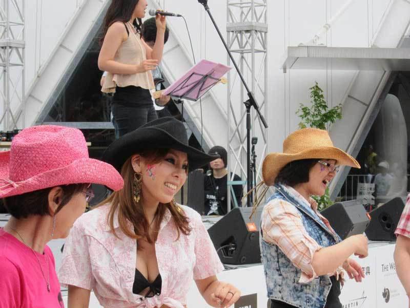 Cowgirls at 2012 Chubu Walkathon