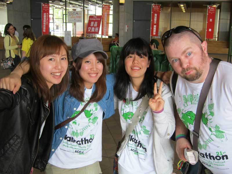 Volunteer Kick: at 2012 Chubu Walkathon