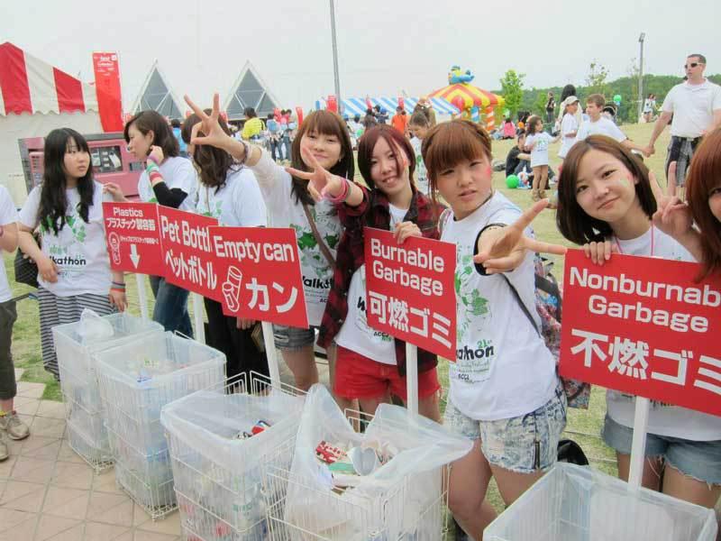 Volunteers at 21st Chubu Walkathon
