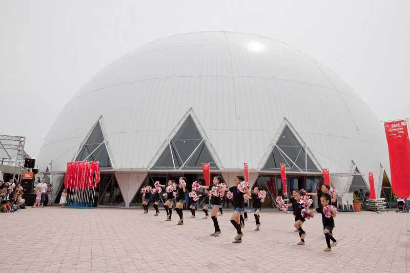 Dance performance at 2012 Chubu Walkathon