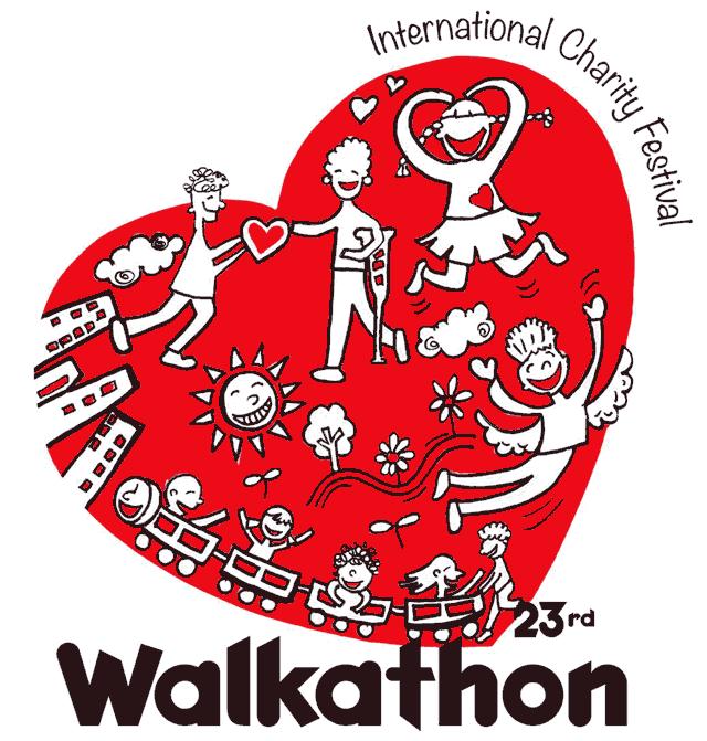 2014 Walkathon T-shirt logo