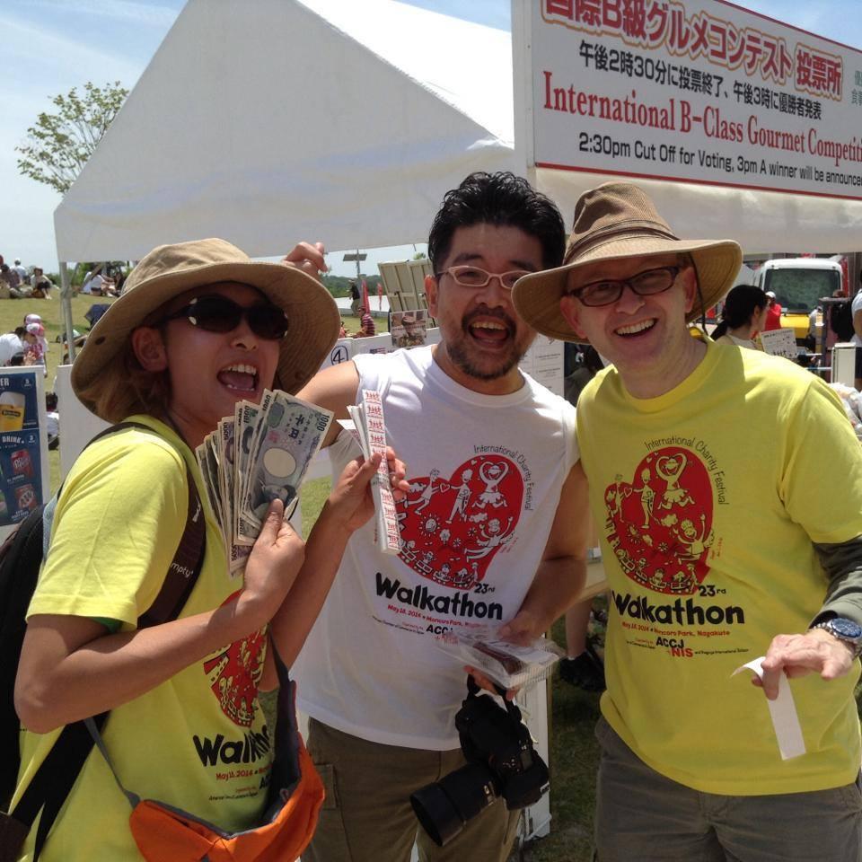 Volunteers in 2014 T-Shirts