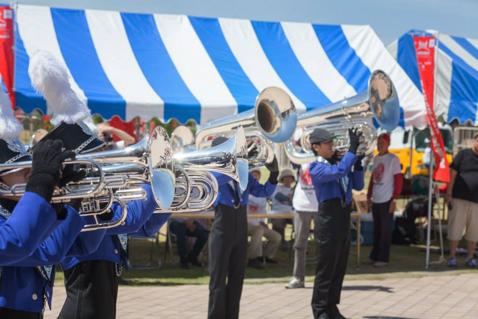 Brass Band at Chubu Walkathon