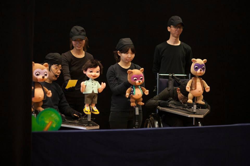 Puppet Show at 2014 Walkathon