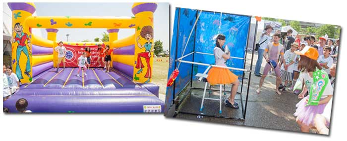 Bouncy Castle and Big Splash