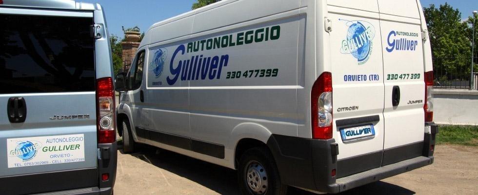 Noleggio monovolume, noleggio furgoni, furgoni con autista, Orvieto, Terni, Viterbo