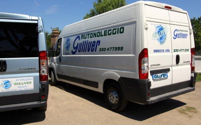 noleggio furgoni, noleggio furgoni con conducente, noleggio furgoni senza conducente, Orvieto, Terni