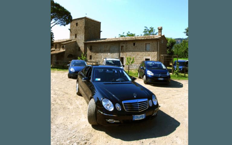 servizi di trasfer per e da aeroporti, Parco macchine, Autonoleggio, Orvieto, Terni, Viterbo