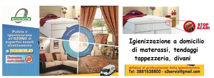 Lavaggio Materassi A Domicilio.Pulizia Di Tessuti A Domicilio Albano Laziale Roma O3 Servizi