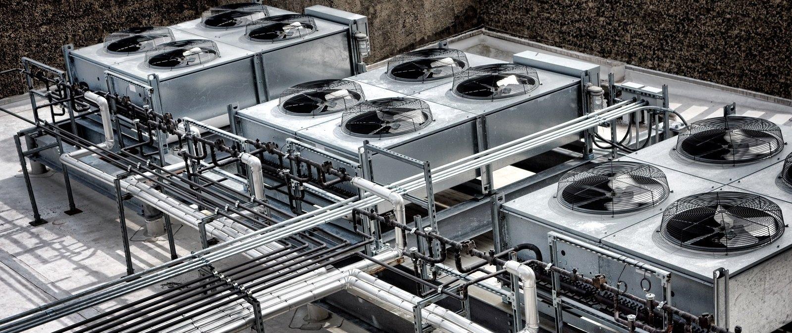Impianto condizionamento industriale